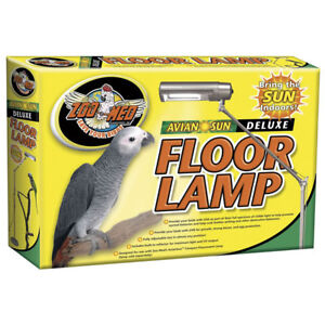 Zoo Med Aviansun Floor Lamp And Sun Light Bulb For Avian