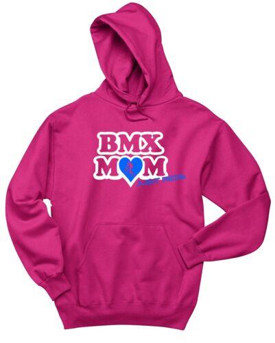 PINK JUST RIDE BMX MOM MUM HOODIE SWEAT SHIRT JUMPER BIKE BICYCLE RACE HARO KINK