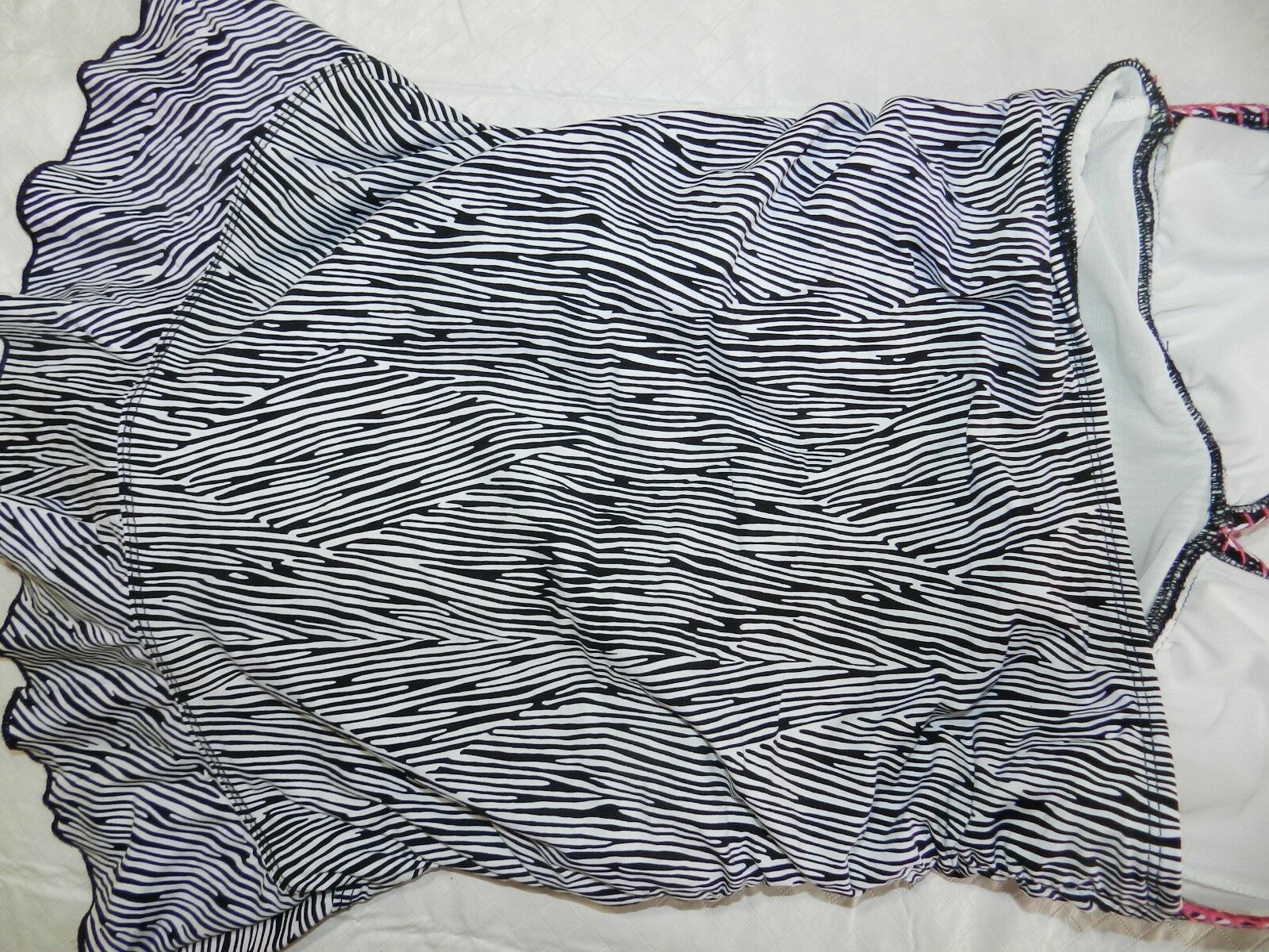 WOMENS WOMENS WOMENS NAVY & WHITE SWIMDRESS = KENNETH COLE REACTION = SIZE SMALL - ss23 aecba1