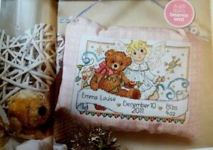 G-Lesley-teare-Cross-stitch-chart-Special-angel-Winter-birth-sampler