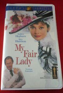 VHS-French-Movie-My-Fair-Lady-Audrey-Hepburn-Rex-Harrison