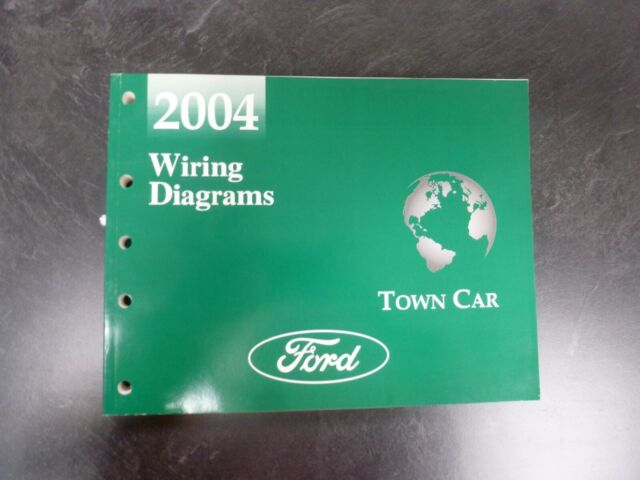 2004 Lincoln Town Car Electrical Wiring Diagrams Manual Signature Ultimate L