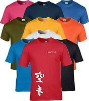 Karate Kanji Martial Arts T Shirt