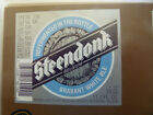 VINTAGE BELGIUM BEER LABEL. MOORTGAT BREWERY - STEENDONK WHITE ALE 33 CL