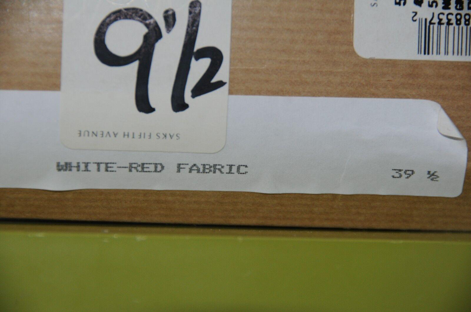 New Christian Louboutin Numero N Prive rot rot rot Weiß Sling Platform schuhe 40 39.5 38 dcb823