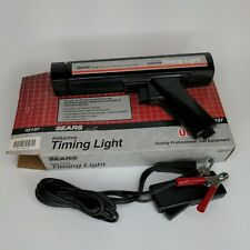 Vintage Sears Clamp On Inductive Timing Light Timing Analyzer With Box 92137