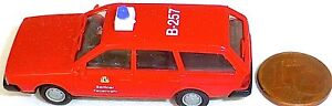 Modellbau Gut Berliner Feuerwehr Berlin B257 Vw Passat Kombi Imu Euromodell 1:87 H0 å Eine GroßE Auswahl An Waren