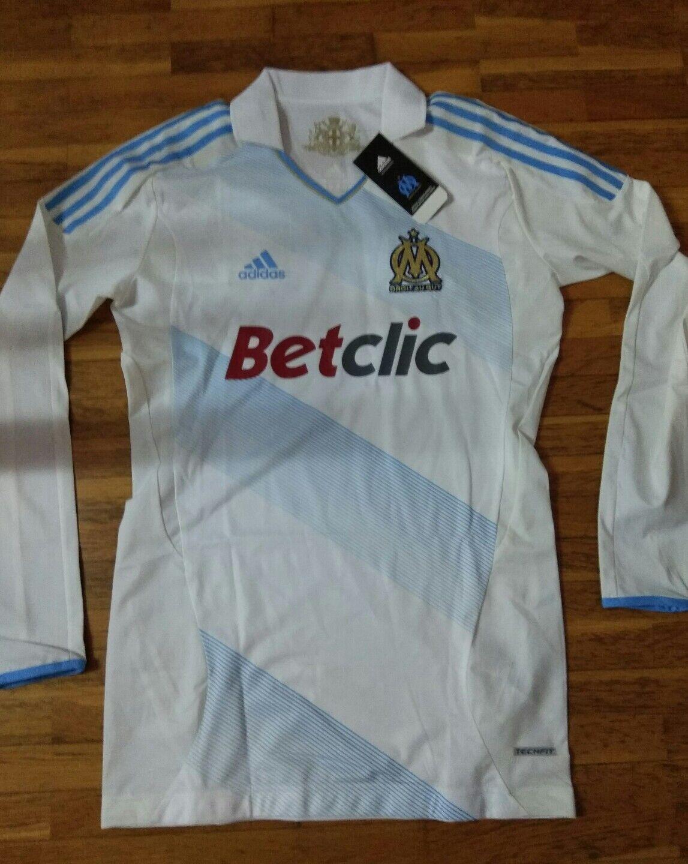 Camiseta jersey shirt maillot maglia trikot ADIDAS TECHFIT OLYMPIQUE MARSELL 2XL