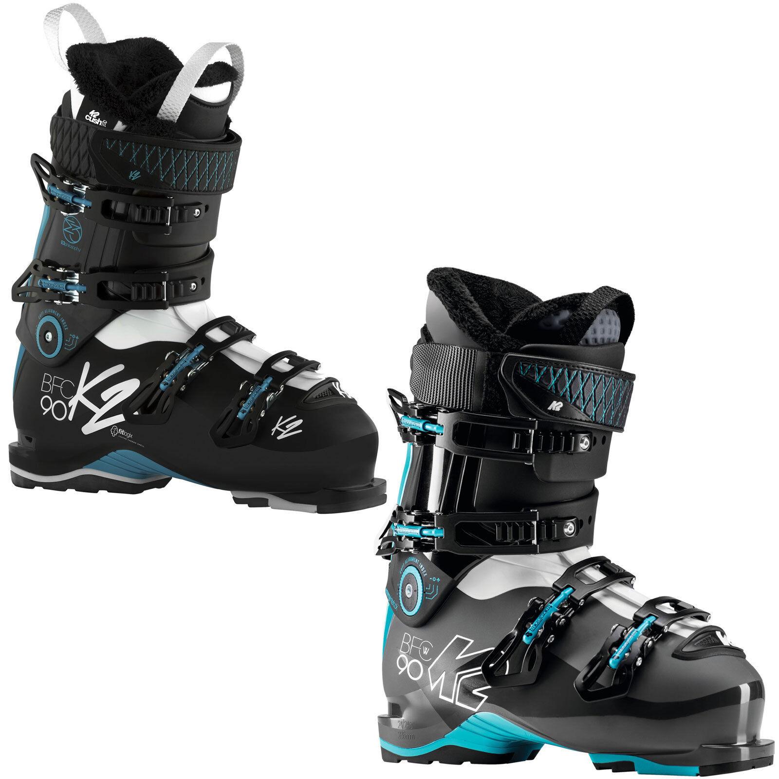 K2 Bfc W 90 Damen Ski Stiefel 4-schnallen Ski Stiefel All-Mountain Frauen-Stiefel