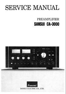 sansui b 3000 user guide online user manual u2022 rh pandadigital co Sansui 2000A Sansui 2000A