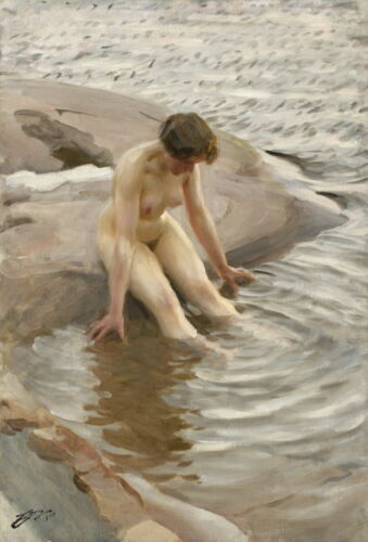 Anders Zorn Painting Giclee Art Paper Print Paintings Poster Reproduction