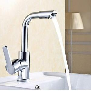 ... One Hole Mixer Sink Water Tap Basin Kitchen Wash Handle Faucet eBay
