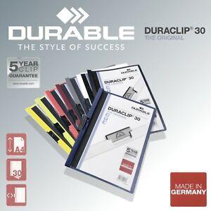 DURABLE-Duraclip-30-Klemmhefter-Bewerbungsmappe-Klemmmappe