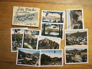 ancienne-pochette-10-photos-Mont-dore-Sancy-annees-50