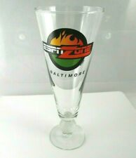 "ESPN Zone Baltimore 9 1/2"" Beer Pilsner Glass with Golf Ball Stem"