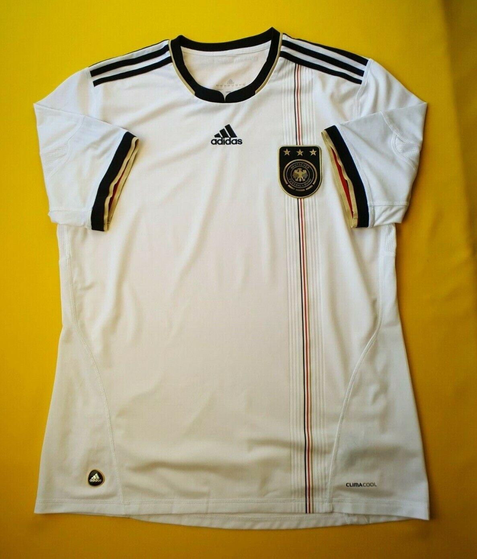 5  5 Alemania Fútbol Grande 2010 2012 Hogar Camiseta De Fútbol Adidas ig93  nueva gama alta exclusiva