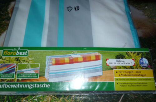 Garten Aufbewahrung Tasche  Hülle 125 x 50 x 32 cm mit Reißverschluss NEU