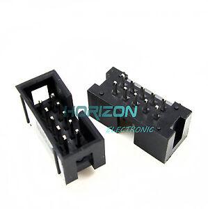 20PCS 2.54mm 2x5 10Pin Double Row Female Straight Header Pitch Socket Pin Strip