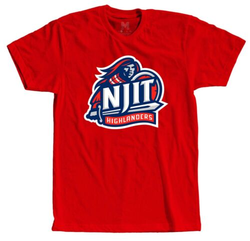 unisex shirt comfortable tees with NJIT logo NCAA Basketball team t-shirt