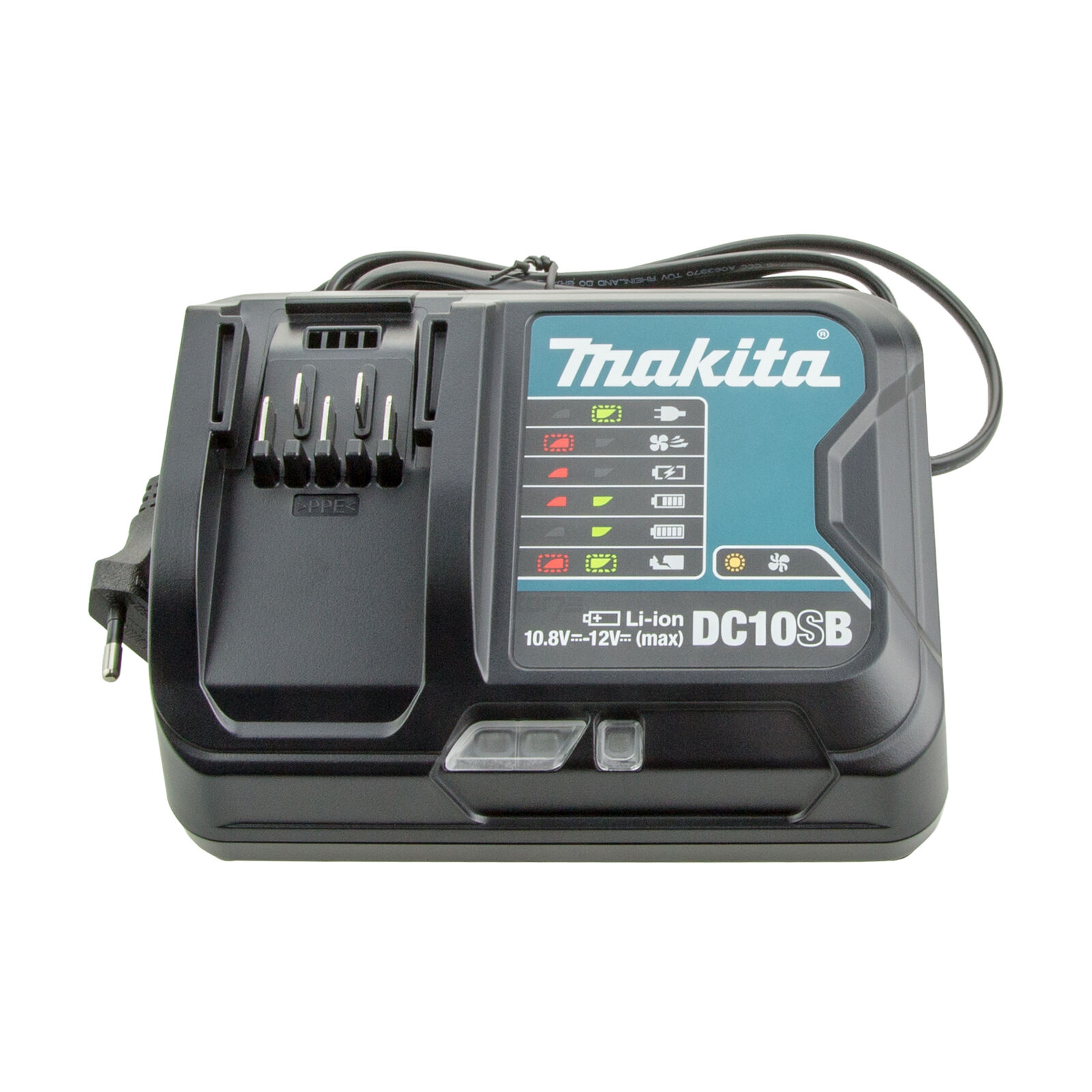 Makita Akku-Ladegerät DC 10 SB   SA 10,8 - 12 Volt NEU für BL1040B