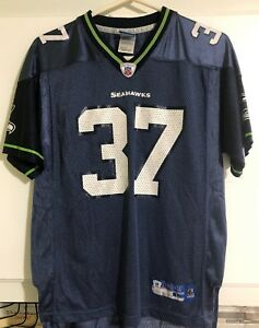 bdc06ff4d59 YOUTH'S NFL SEATTLE SEAHAWKS # 37 SHAUN ALEXANDER REEBOK ON FIELD ...