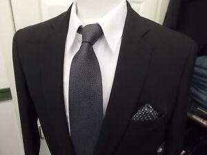 Cavani-Black-Suit-2-amp-3-Piece-perfect-for-Party-or-Business