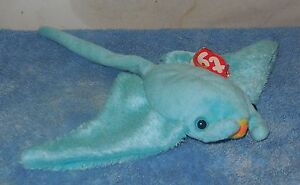 9cf2059940e Image is loading TY-Sunray-The-Stingray-Beanie-Baby-plush-toy