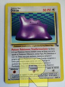 Ditto ® Fossil 18/62 ® Rara ® Pokemon ® Italiano ® Good
