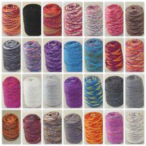 Sale-NEW-500g-Cone-Yarn-Chunky-Shawl-Scarf-Hand-Knitting-Colorful-Wool-Cashmere