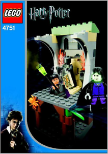 LEGO 4751 - HARRY POTTER - HARRY AND THE MARAUDER'S MAP - 2004