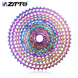 ZTTO 12 Speed Rainbow Cassette 11-52T SLR2 MTB  12Speed UltraLight Freewheel 415g  cheap