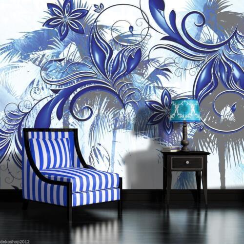 VLIES Tapete Fototapeten Tapeten Ornament Blumen Kunst Abstraktion  14N406VEXXL