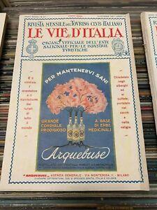 LE-VIE-D-039-ITALIA-ANNO-XXXIII-N-11-NOVEMBRE-1927-TOURING-CLUB-ITALIANO