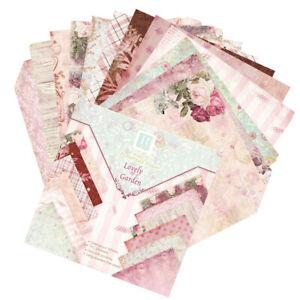 Scrapbook-Paper-24-Sheets-Floral-Cardstock-Papers-DIY-Album-Scrapbook-Card-Paper