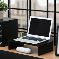 Computer Monitor Riser 16.7 Inch 1 Tier Monitor 14 Laptop Stand Desktop Stand
