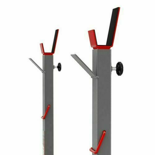 Adjustable Gym Exercise Squat Bench Racks Stands Olympic Weights Standing Set UK