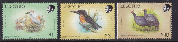 HonnêTeté Lesotho ^^^ Sc # 630-632 ^^^^ Neuf Sans Charnière Valeurs élevées (navires) $ $ @dcc52leso