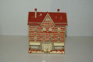 Vollmer-N-53562-Fachwerkhaus-mit-Eisdiele-gebraucht-Fertigmodell