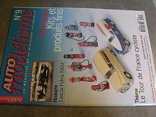 $$ Revue Auto modélisme N°9 Lancia Fulvia F&M  Tour de France cycliste  Porsche