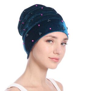 pour-cheveux-hijab-chapeau-de-velours-les-musulmans-turban-la-chimio-chapeau