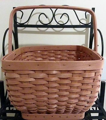 VERY NICE Basket Square Top Rounded Bottom with Handle