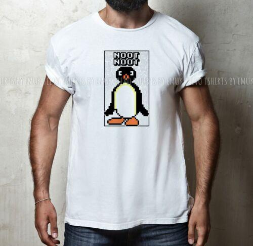 Mens Womens Funny NOOT NOOT Pingu Meme Joke 100/% COTTON S-5XL SIZE T-shirt Tee