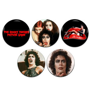 5x-The-Rocky-Horror-Picture-Show-Movie-Musical-25mm-1-Inch-D-Pin-Button-Badges