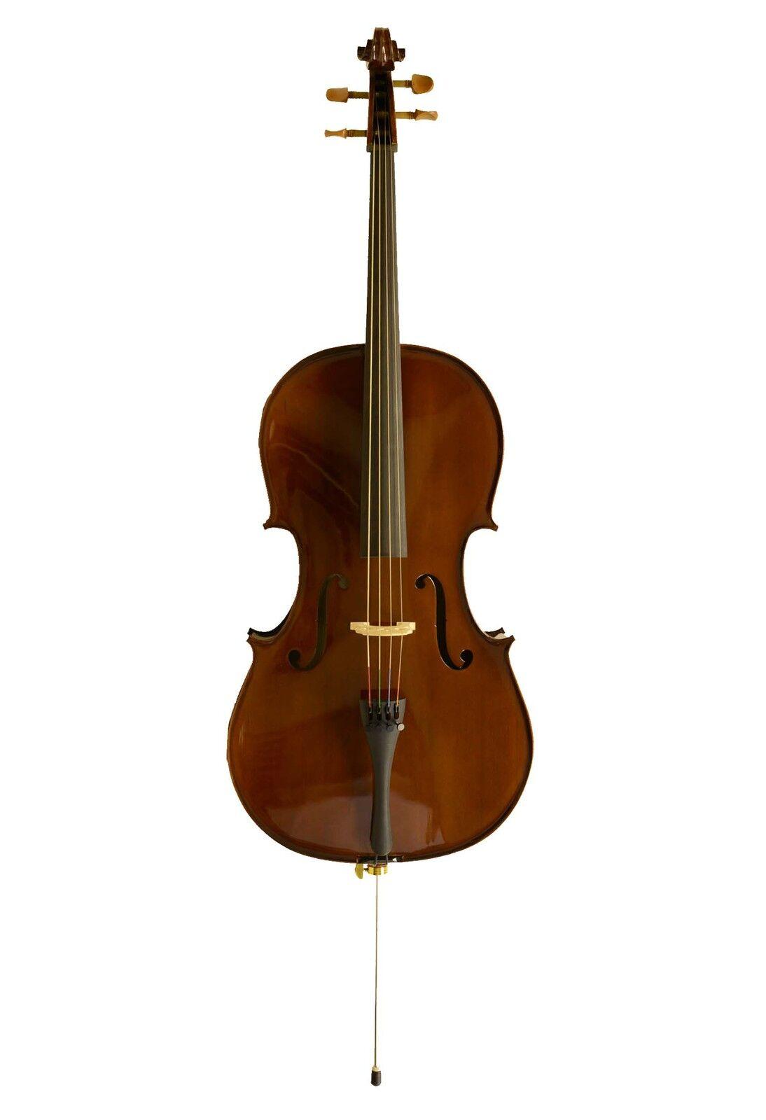 Sinfonie24 Cello-Set Größe 3 4, 7 8, 4 4 (Basic II) mit Tasche, Bogen