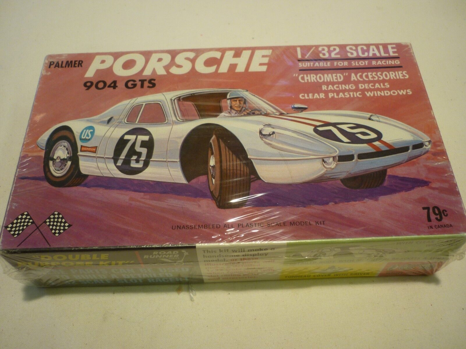 Palmer un-made  plastic kit of a Porsche 904 GTS...  boxed sealed
