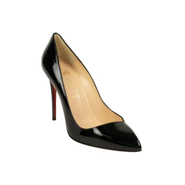 Gently Auth Christian Louboutin Nude