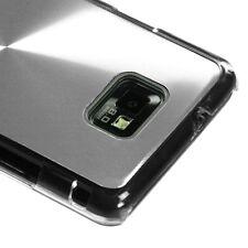 Straight Talk Samsung Galaxy II 2 S959G METAL COSMO Hard Case Phone Cover Silver