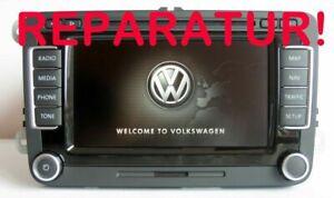 VW RNS 510 Navigation Reparatur Boot Fehler Startfehler