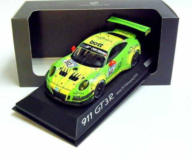 24h Daytona 2017 991 II 1:43 Ixo Porsche 911 gt3 R #28