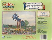 Sky Wheel Carnival Amusement Ride Ticket Office Model Kit Ho Scale 1:87 Ihc Trai